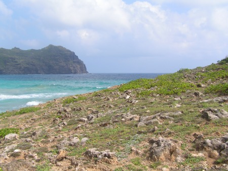 rocky path to paradise